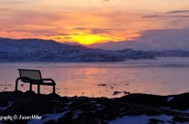 "Iqaluit, ""Early Morning in Rotary Park"""