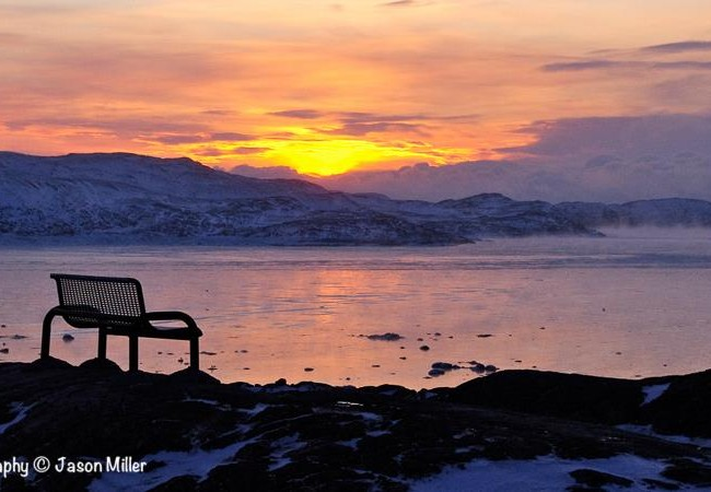 """Iqaluit, """"Early Morning in Rotary Park"""""""