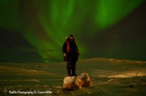 Iqaluit, Northern Lights, Self Portrait