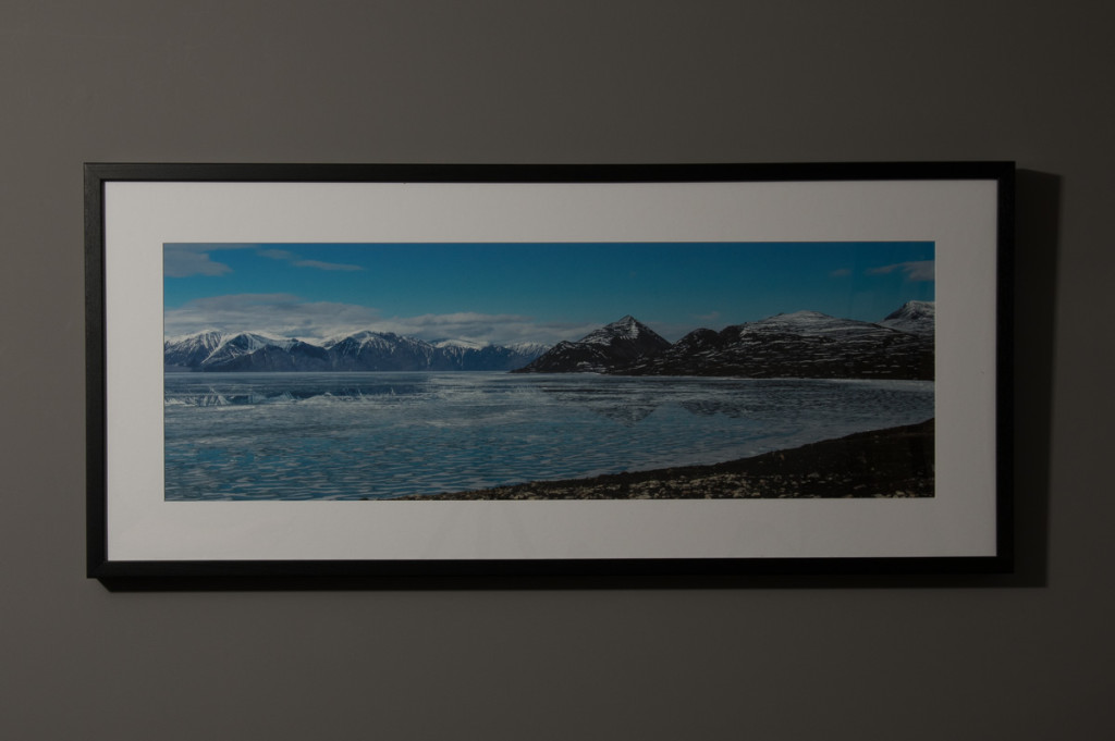Early Summer, Pond Inlet. 18x42 Panoramic Framed Print - $300.00