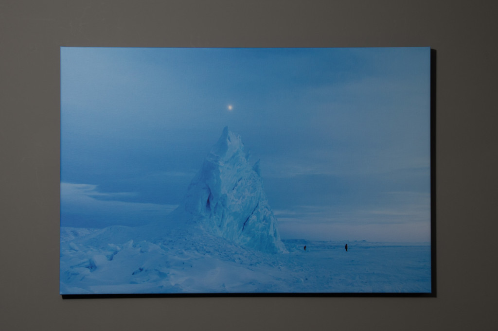 Tip of the Iceberg, Pond Inlet.  24x36 Canvas - $250.00