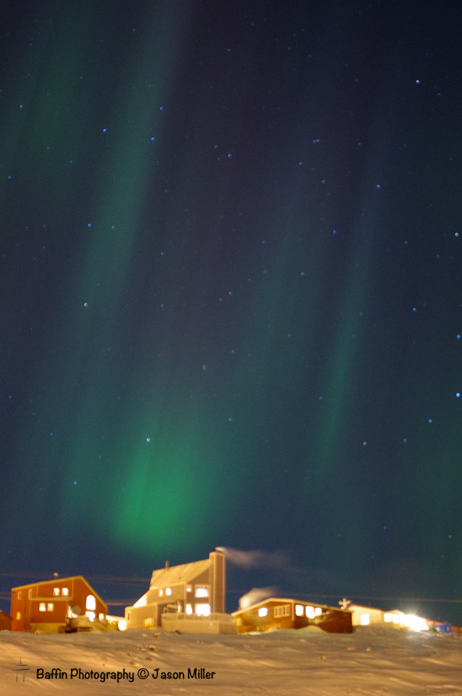 Iqaluit Northern Lights Baffin Photography